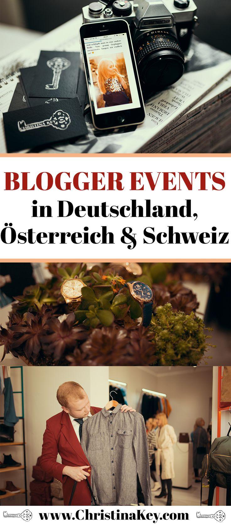 Blogger Tipps  - Alle Blogger Events in Deutschland, Österreich & Schweiz im Überblick! Alle Blog Events sind geordnet nach Blog Kategorie, Datum und mehr! Jetzt entdecken auf CHRISTINA KEY - dem Fotografie, Blogger Tipps, Rezepte, Mode und DIY Blog aus Berlin, Deutschland