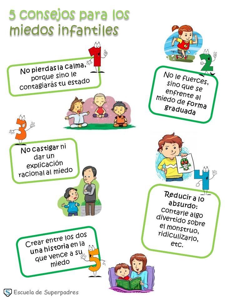 5 consejos para los miedos infantiles http://escueladesuperpadres.blogspot.com.es/