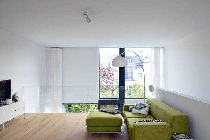 25 best gevelsteen hoge vest wit brique hoge vest for Moderne rijwoning