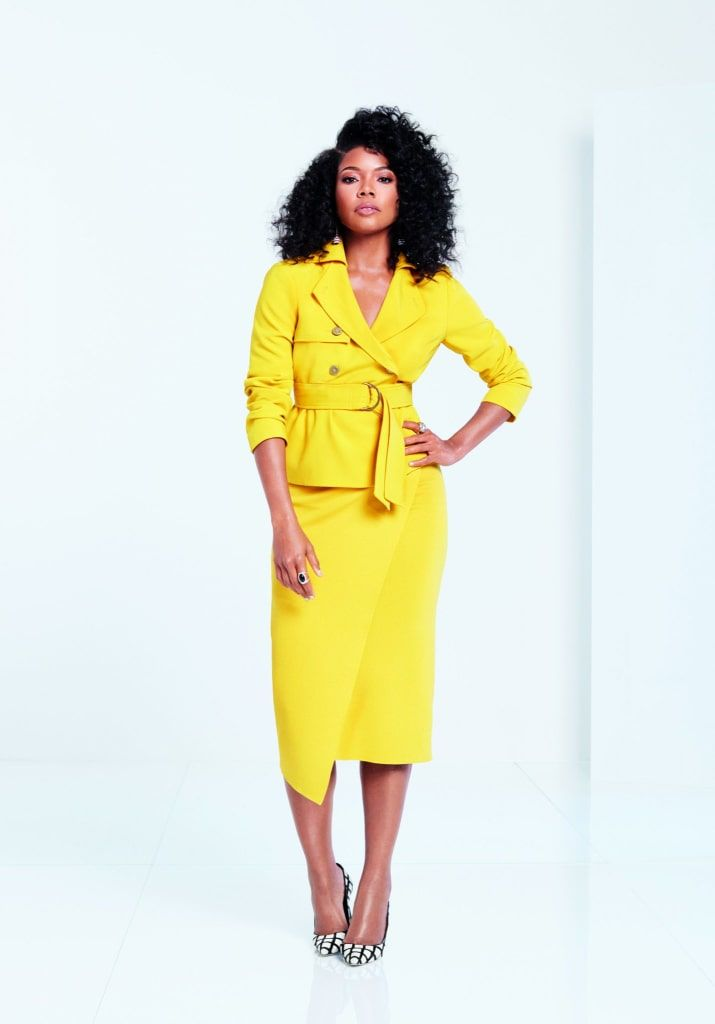 "Gabrielle Union Drops New York & Co Spring Collection With Cool News! http://thecurvyfashionista.com/2018/02/05/gabrielle-union-new-york-co-plus-sizes/  Gabrielle Union's Collection at New York & Company has a new campaign, #AllTogetherNow, and it features the leading ladies of ""Being Mary Jane"" cast, including the curvy actress, Raven Goodwin!"