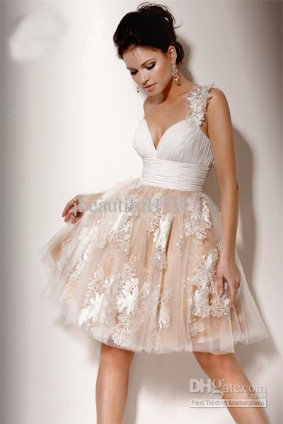 20 best wedding rehearsal dress images on pinterest homecoming beautiful white satin tulle one shoulder embroidery cocktail prom dress of short empire junglespirit Image collections