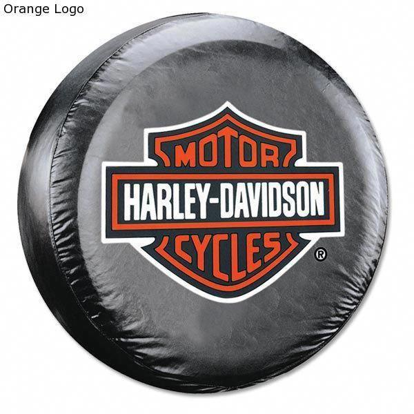 Harley Davidson Shield Logo Rear Spare Tire Cover