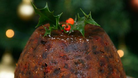 """Edward says: """"Christmas Pudding is just one of those recipes that people call upon from year to year. Perhaps this year you could try this new recipe. This is a very simple recipe and will be simply delicious if you just continue to top it up for the next few weeks with lots of whiskey or brandy."""""""