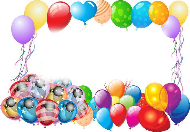 Balony, Birthday, Powitanie