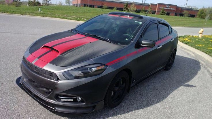 Dodge Dart (except blue with white racing stripes)