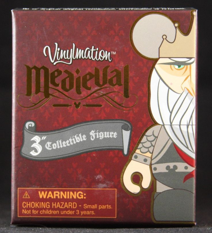 Vinylmation Medieval Series Sealed Blind Box, $10.99 (http://www.blindboxes.com/vinylmation-medieval-series-sealed-blind-box/)