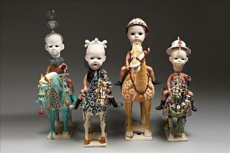 Wow - these are freaky - Penny Byrne is one of Australia's most radical contemporary ceramacists.