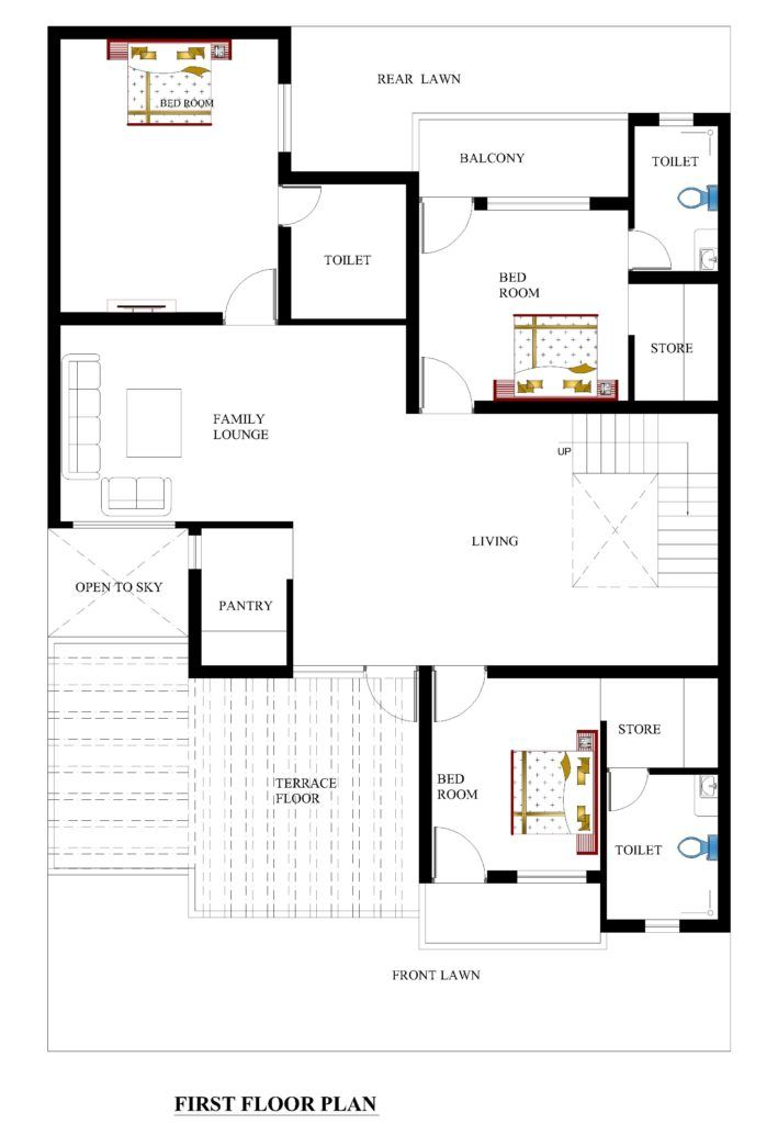 Best 25 3d house plans ideas on pinterest sims 3 for 40x60 house floor plans