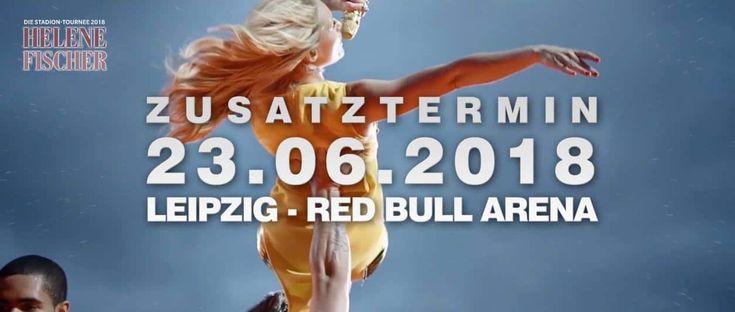 In Leipzig startet Helene Fischer die Stadion Tournee 2018 am 23.06. in den Red Bull Arena. Dies ist die erste Zusatzshow der großen Tour!