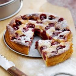 Airfryer Cherry Clafoutis @ allrecipes.com.au