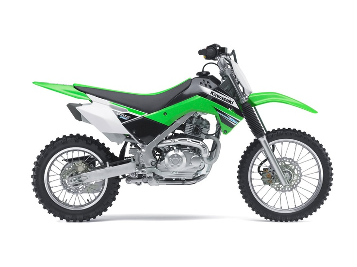 Kawasaki klx 125. I have this bike with a procircuit muffler. Very fast bike....cant wait till my boys can ride it. They could ride it now but their feet don't touch ! Heck, mine barely do .   Kawasaki is the best, Yamaha too......