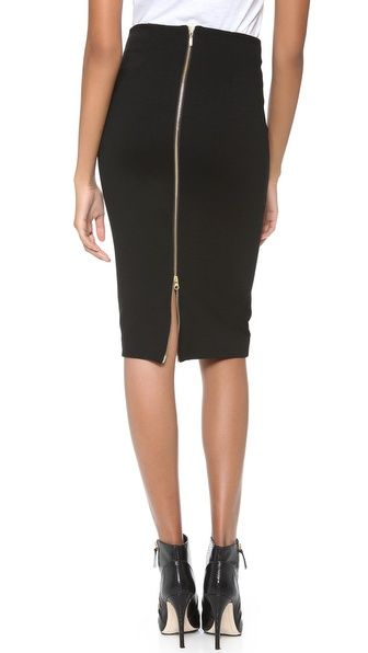 5th & Mercer Pencil Skirt #valentinesday