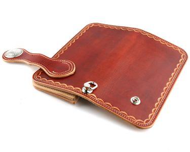 kc-s | Rakuten Global Market: Wallet mens Womens long purses long wallet leather leather KC, s ケイシイズ: Travis hand stamps long wallet