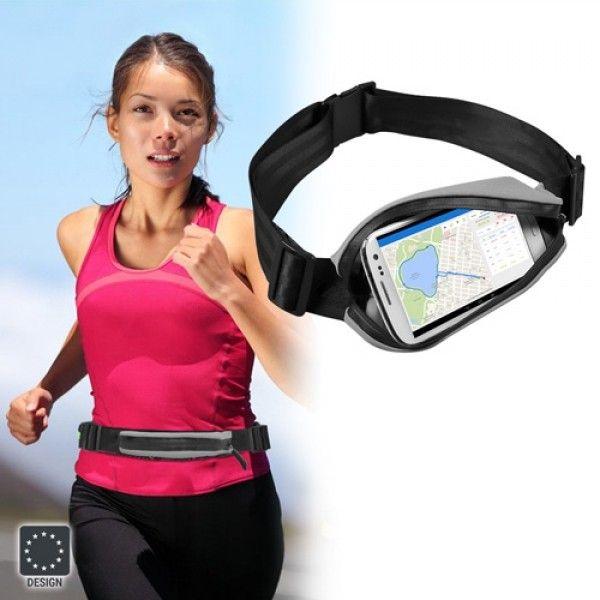 GOFIT belte for mobiltelefon ved løping/trening | Satelittservice tilbyr bla. HDTV, DVD, hjemmekino, parabol, data, satelittutstyr