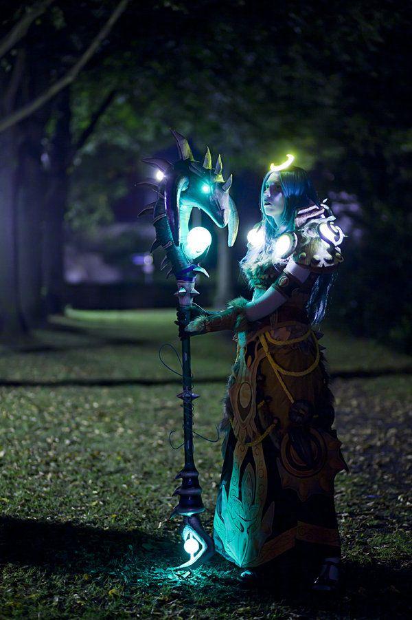 Night Elf Druid, World of Warcraft cosplay.