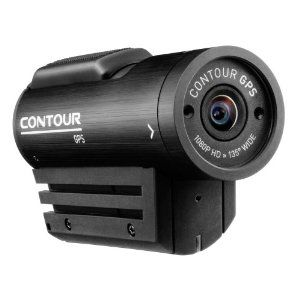 Cool $294 HD GPS video camera that produces a video from your helmet (or other device, aka remote control helicopter) with a GPS mini window overlayed on a contour map.