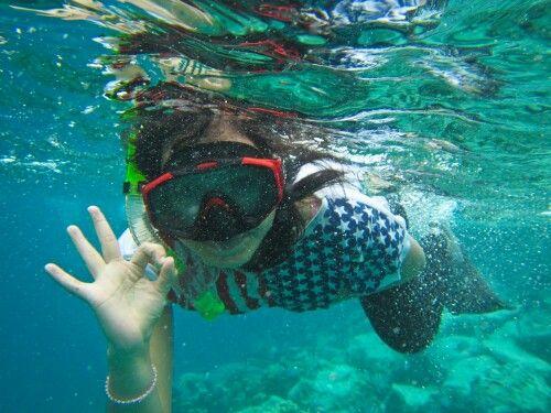 Snorkling, sabang