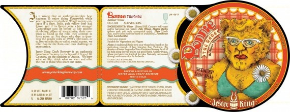 Jester King's Bonnie The Rare Berliner Weisse  http://bsj.me/-3