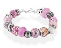 Amore & Baci pink bracelet