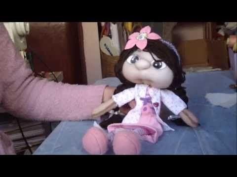 Muñecos Soft...Doctora juguetes...proyecto 158