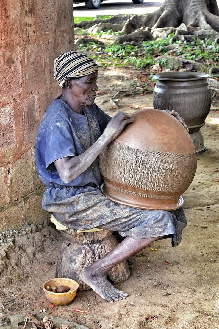 African Ceramic And Stone : Datura enyounchained nigeria village diaries