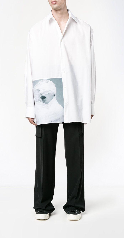 17 best ideas about oversized shirt on pinterest minimal for Raf simons robert mapplethorpe shirt