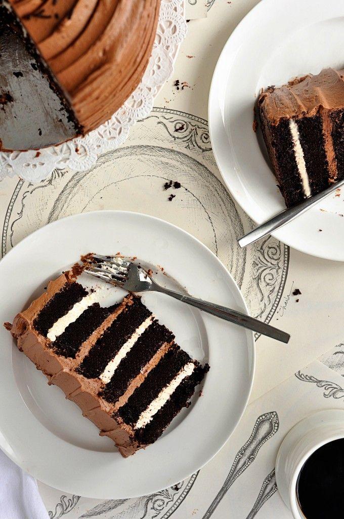 6 Layer Rich Chocolate Cake / Sweetapolita