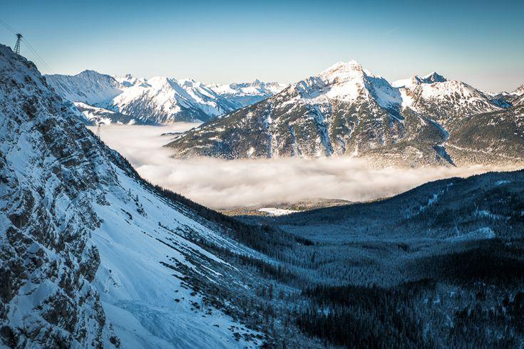 Zugspitze   far above the fog