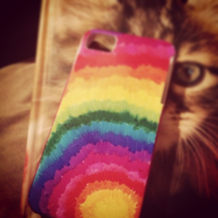 DIY iPhone case with Sharpies