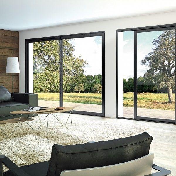 Fenêtre et baie coulissante aluminium Aluslide +