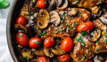 Dronken Kip Marsala Met Tomaten recept | Smulweb.nl