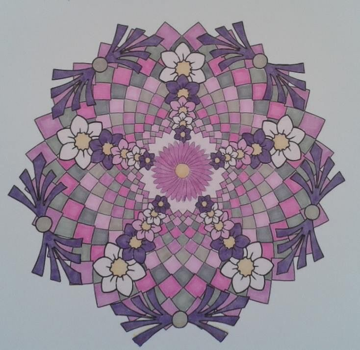 225 best Mandalas images on Pinterest | Zentangle patterns ...