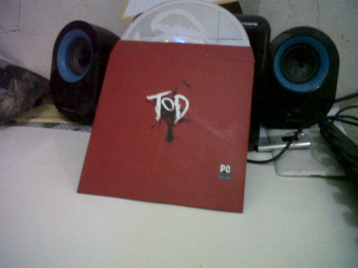 Cover cd game tod