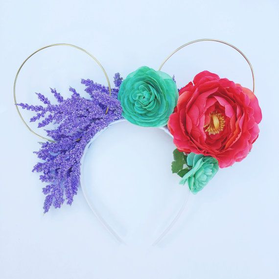 The Little Mermaid Ariel Magical Floral by BriarRoseandCompany