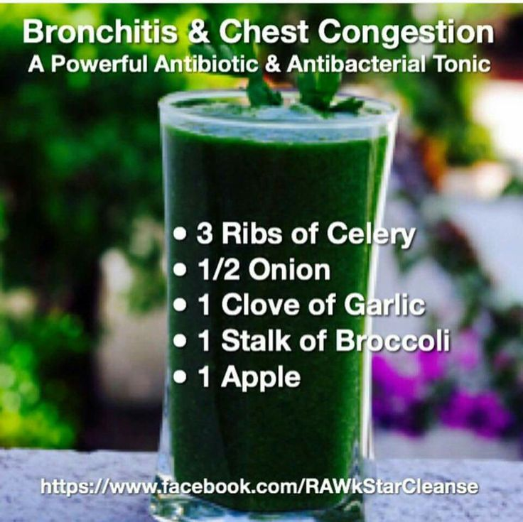 Bronchitis and Chest Congestion                                                                                                                                                                                 More