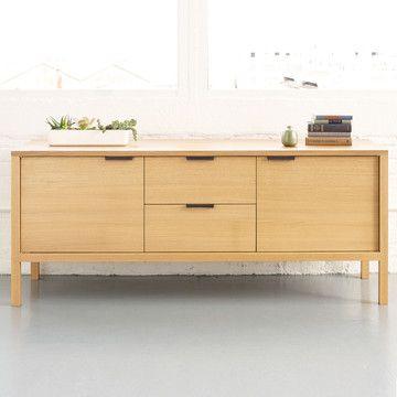 tilde credenza white oak furniture - Credenza Furniture