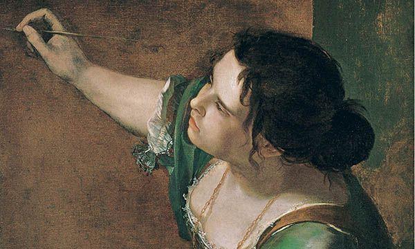 Artemisia Gentileschi: Self Portrait  http://annabregmanportraits.co.uk/unusual-self-portraits/