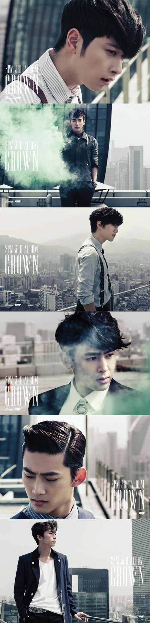 2PM to release 3rd album 'GROWN' in korea #2pm #jyp #grown