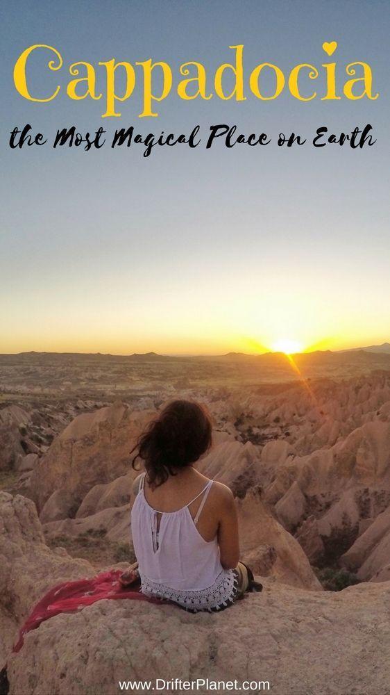 Por que a Capadócia é o lugar mais mágico da Terra   – Travel Inspiration!