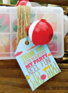Gone Fishing Party Favors