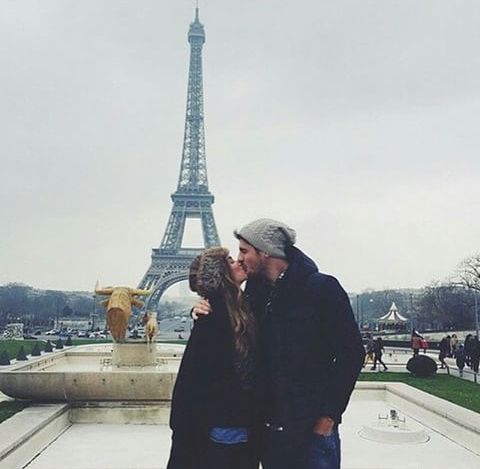 Love | Kiss | Couple | Paris | Travel | Together forever | Cute | Romance