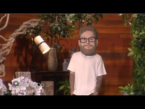 Justin Bieber with Seth Rogen on The Ellen Show 11/11/2015 - YouTube omg Justin!!!