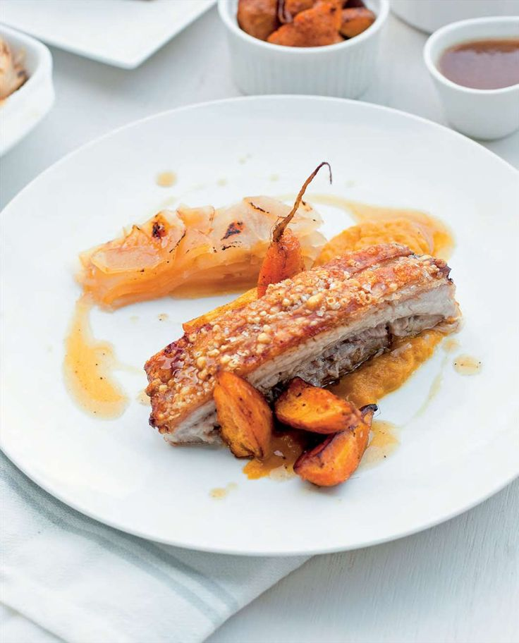 Perfect roast pork belly in apple cider by Billy Law from Have You Eaten? | Cooked