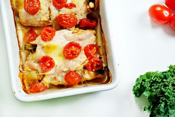 Stylowo i Zdrowo: Fit przepis na roladki z indyka z jarmużem i suszonymi pomidorami