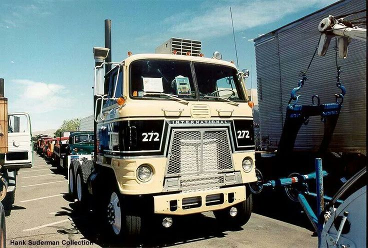 17 Best Images About International Cabover Trucks On