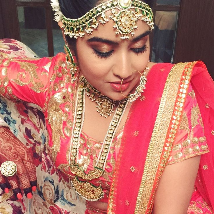 Best site to plan a modern Indian wedding, WedMeGood covers real weddings, genuine reviews and best vendors | candid photographers, Make-up artists, Designers etc   Indian Bridal Makeup. Makeup. Nagpur. India
