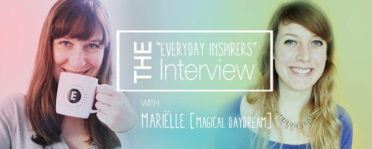 Everyday Inspirer   Marielle [@magicaldaydream]