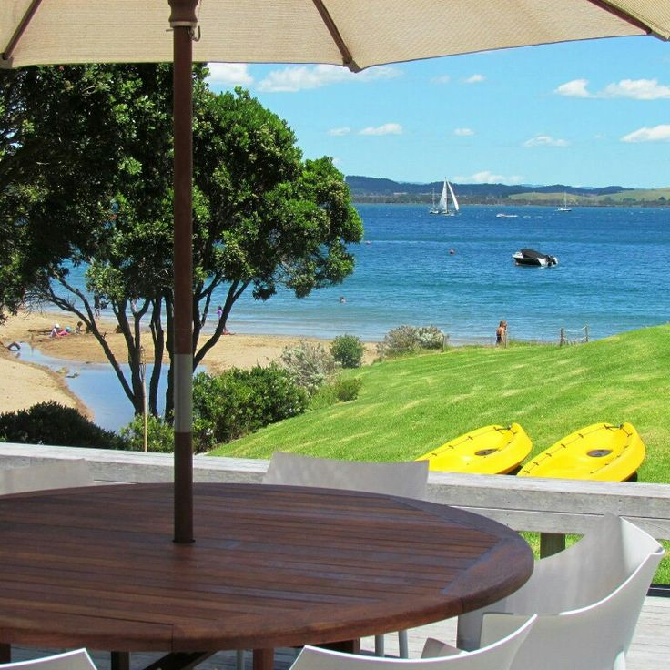 This beachfront bach on Tapeka beach, Russell in the Bay of Islands won Best Child-Friendly property in our annual awards. The bach has lots of extras for kids and families like kayaks, trampoline, beach toys, indoor games and safe swimming. Rent this property for your next family holiday - www.bookabach.co.nz/227