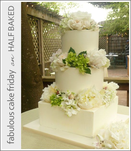 Romantic Weddings Simple: 188 Best White Wedding Cakes Images On Pinterest