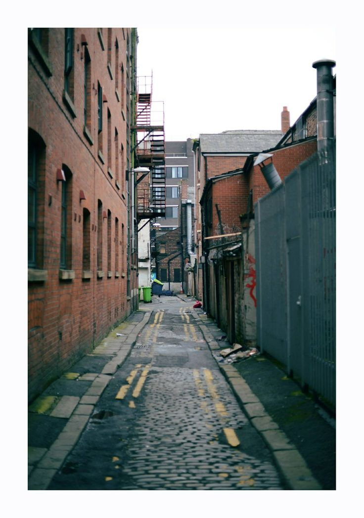 Urban exploring in Manchester's Northern quarter.